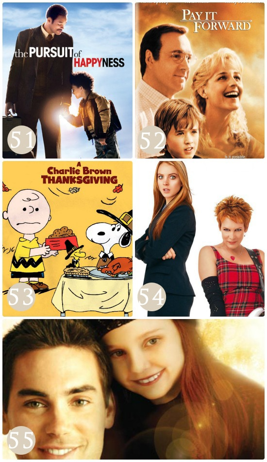 Movies to teach kids gratitude.