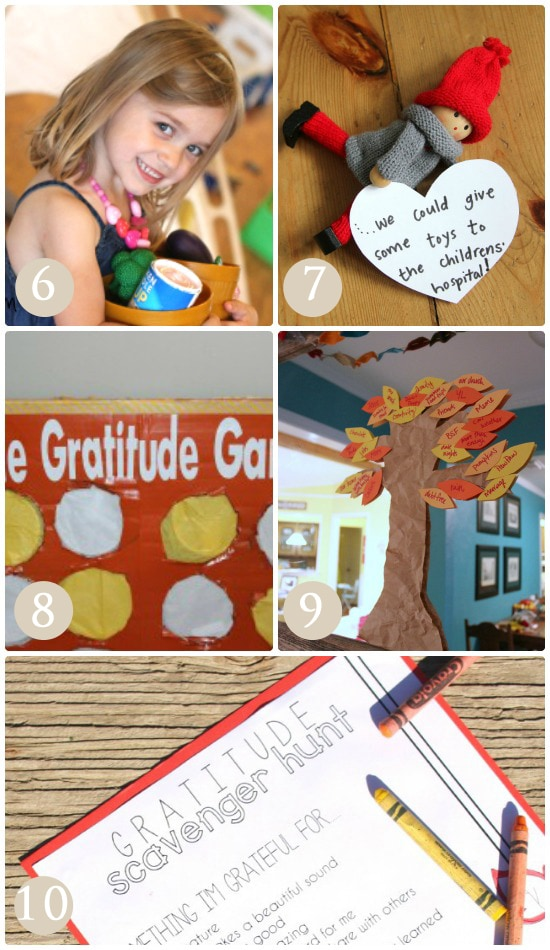 Use these fun activites as a way to build gracious children.
