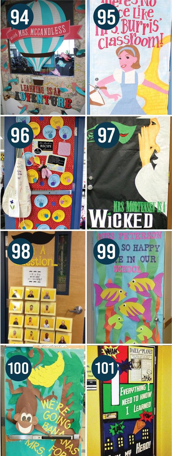 Teacher Appreciation Door Decoration Ideas