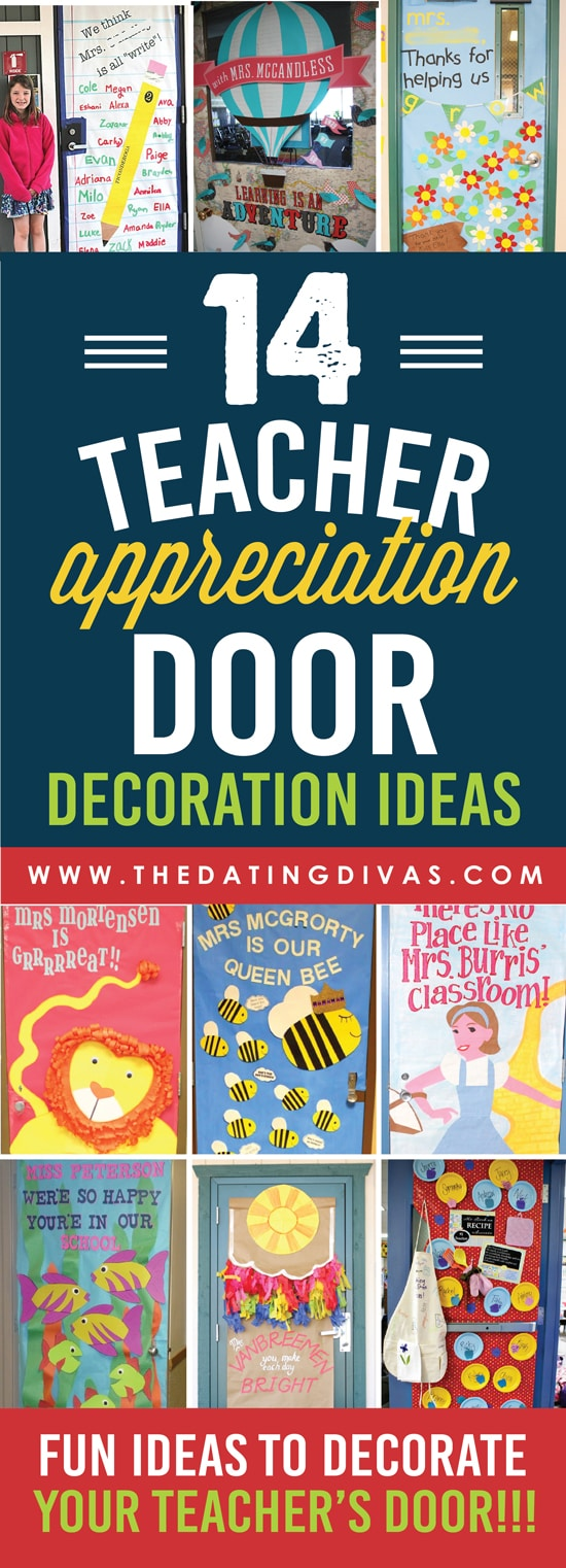 Teacher Appreciation Door Decorations