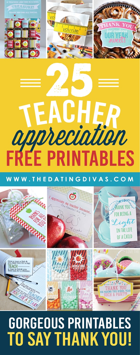 Relatively Quick and Easy Teacher Appreciation Gifts And Ideas - The Dating Divas JI95