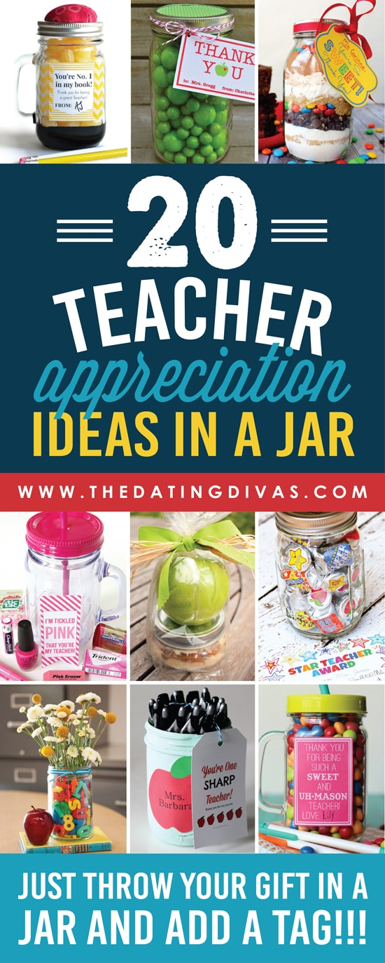 Classroom Thank You Ideas ~ Quick and easy teacher appreciation gifts ideas the