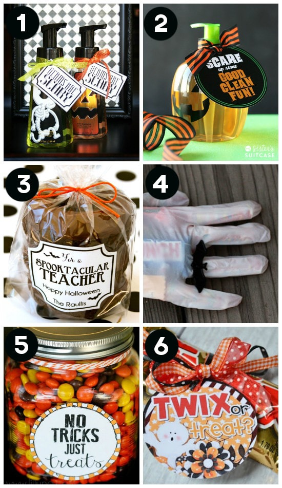 Ideas for Halloween Gifts for Teachers