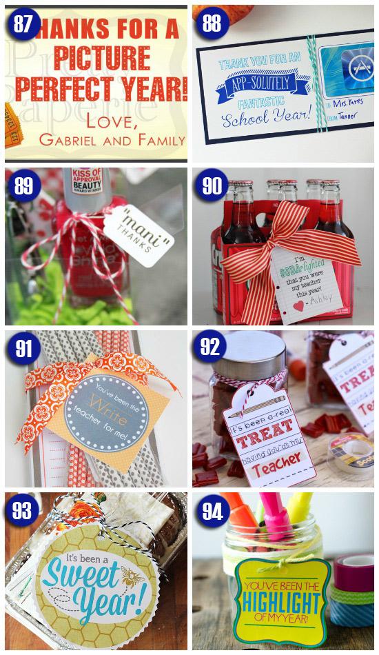 Teacher Gift Ideas for the Last Day of School