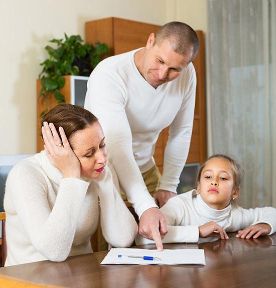 Teach your children about reacting to stress by example.