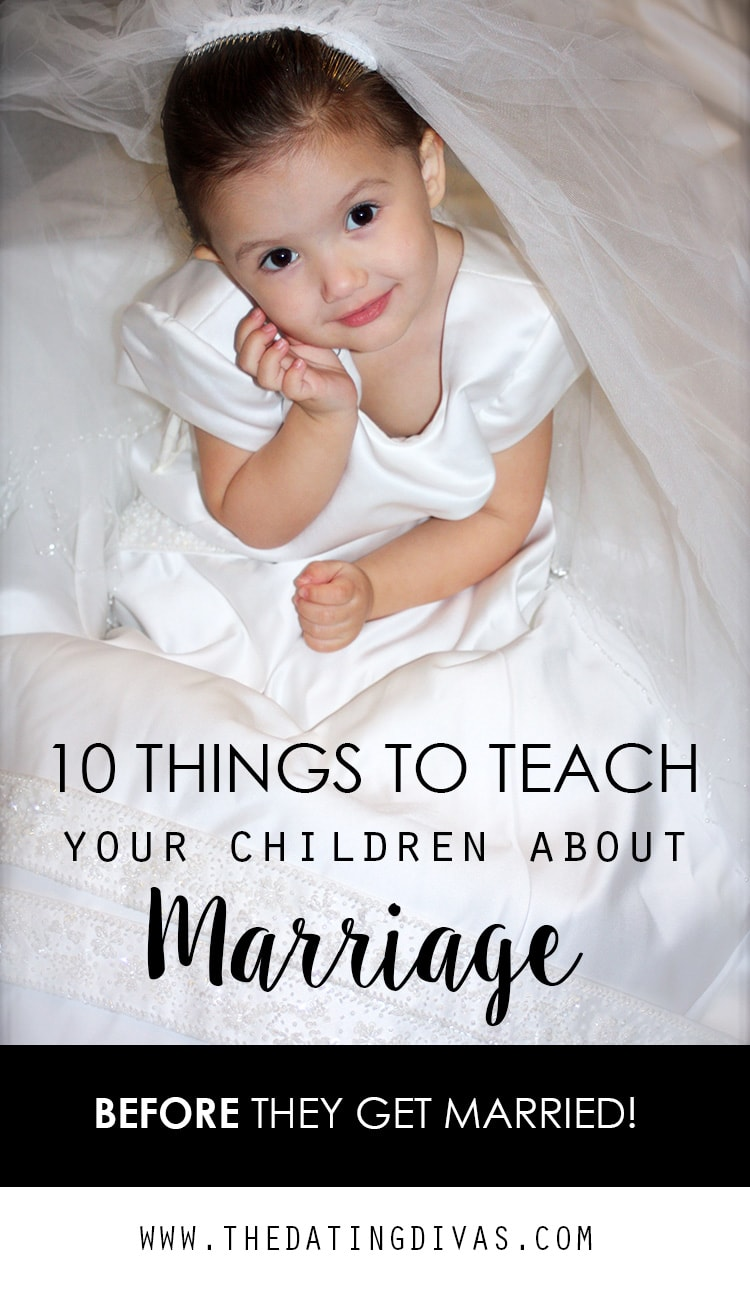 Teaching Your Children About Marriage