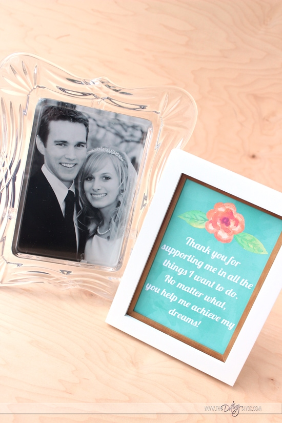 Frame-able THANK YOU Notes