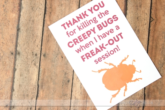 Thank you for killing the bugs.