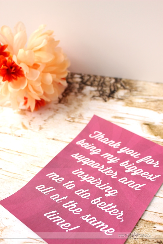 thank you note to husband