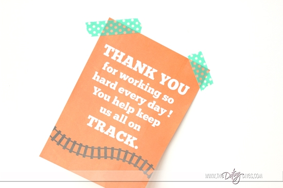 Thank you card for my husband