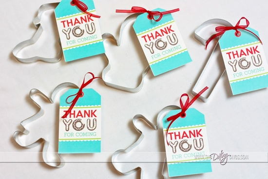Cookie Exchange Party Favors