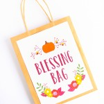 Thanksgiving Blessing Bag