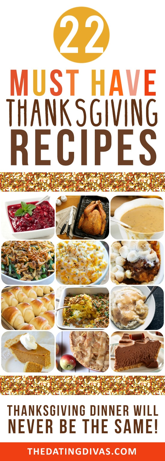 Top Thanksgiving day dishes!