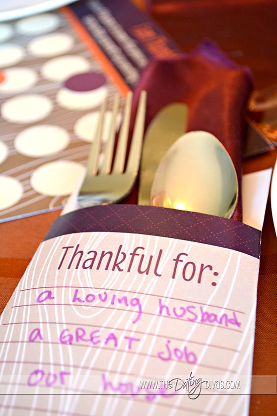Thankful For... Printables