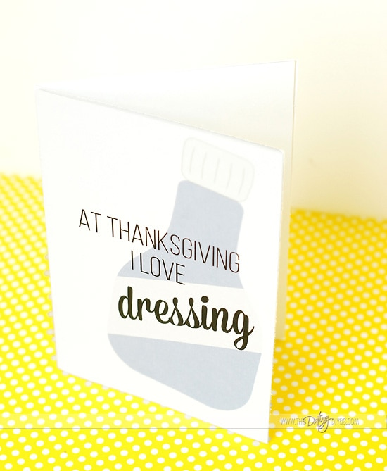 Sexy Thanksgiving Card