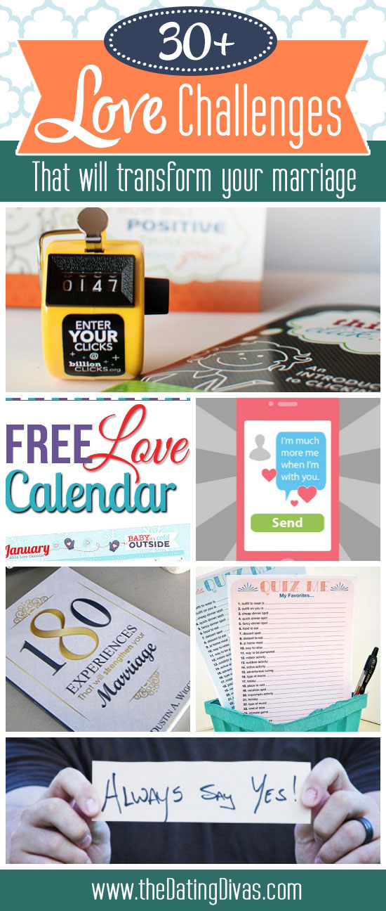The Best Collection Of Love Challenges To Transform Your Marriage