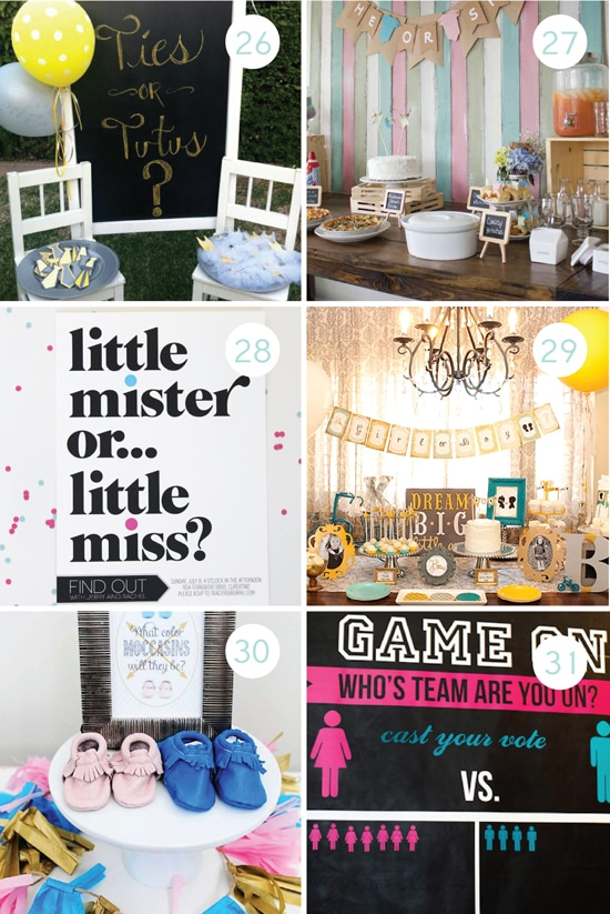 Cute Gender Reveal Party Themes and Ideas