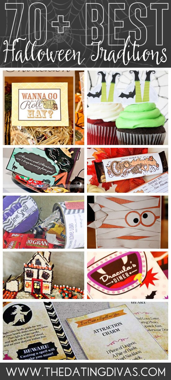 70 + FUN Halloween Traditions