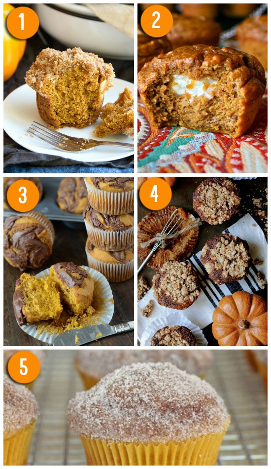 The Best Pumpkin Muffin Recipes