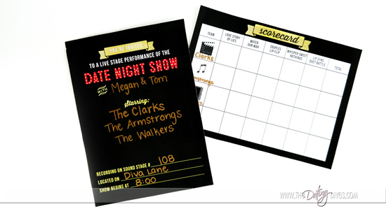 The Date Night Show Scorecard