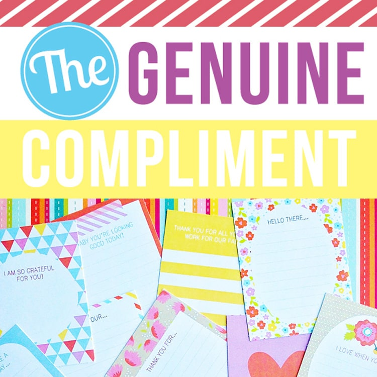 The genuine compliment challenge to bring back the passion