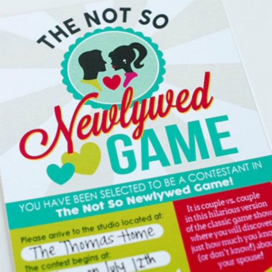 newly dating game The newlywed game is an american television game show that pits newly married couples against each other in a  the newlywed game, the dating game and the gong .