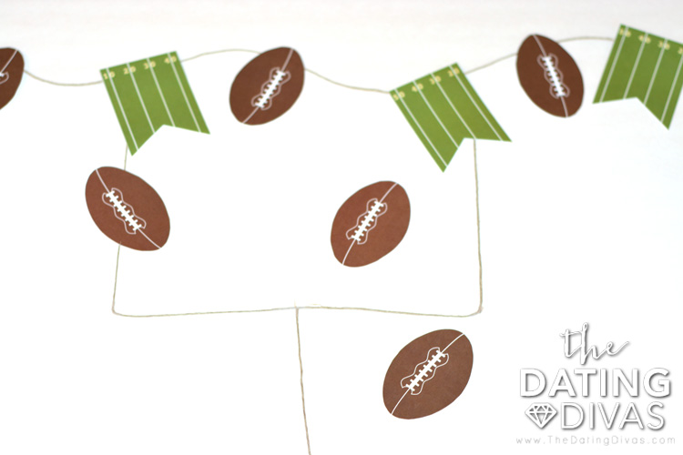 The PERFECT Super Bowl Date - Pin the football in the uprights!
