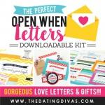Open When Letters Kit