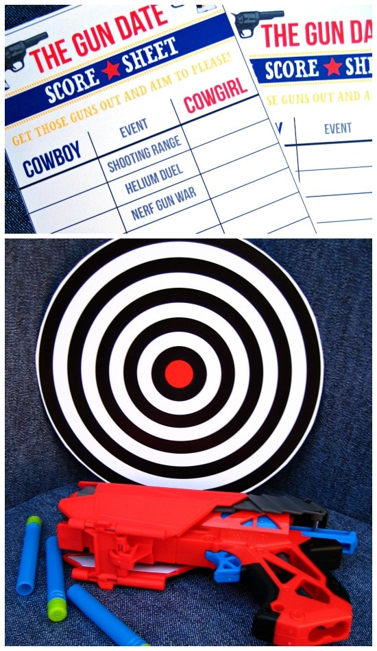 The Shooting Date Game Printables