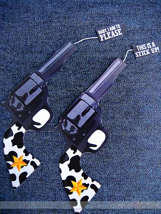 The Shooting Date Gun Printables