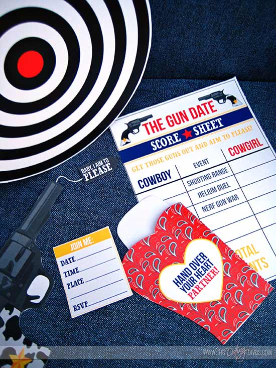 The Shooting Range Printable Pack