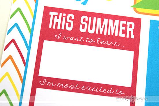 Summer Goals for Kids