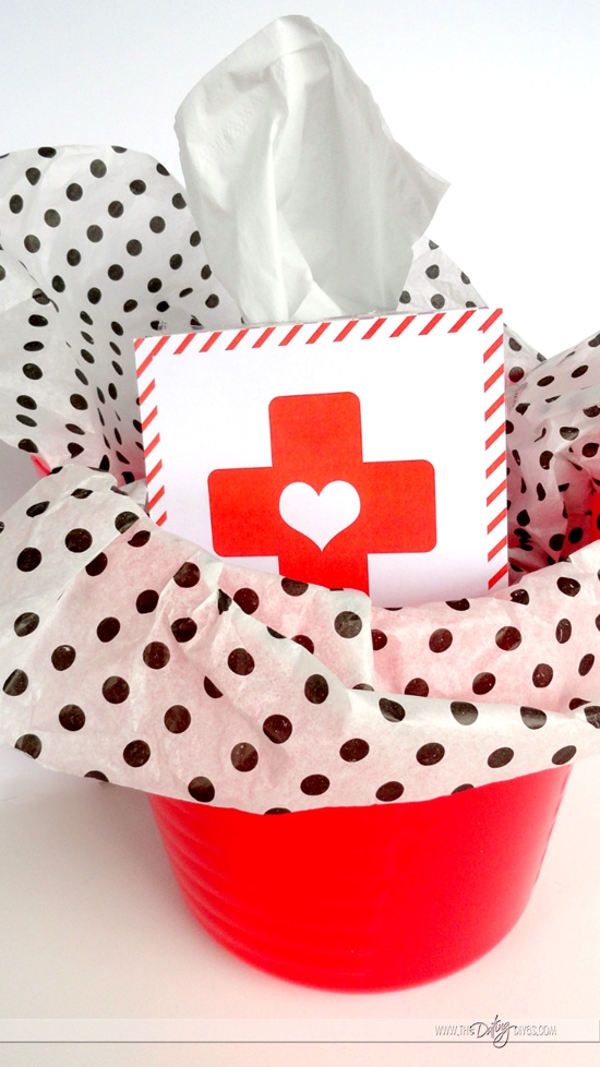 Tissues for Sick Spouse