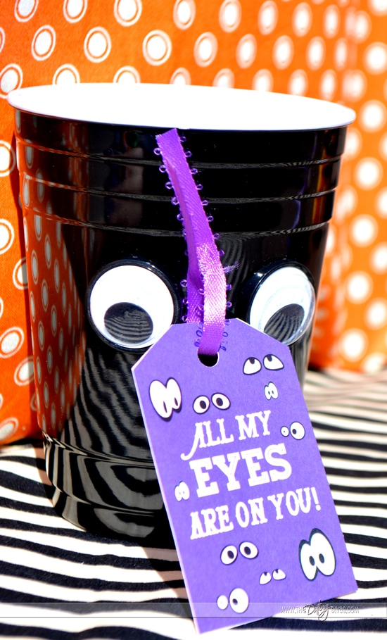 Adorable gift tags to make a gift basket for your BOO!