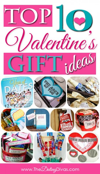 collage of valentines gift ideas