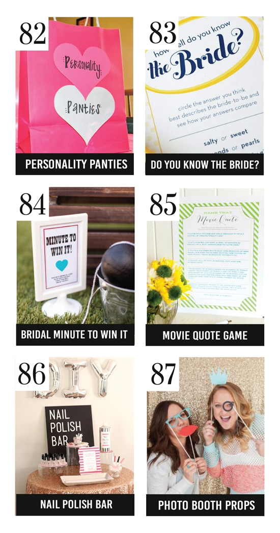 Top Bridal Shower Games and Activities