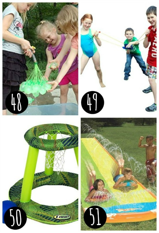 water slide games for kids