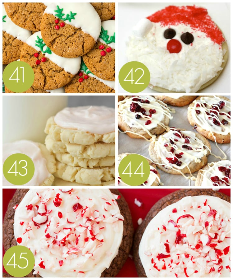 Gorgeous Topped Cookie Recipes for Christmas Parties