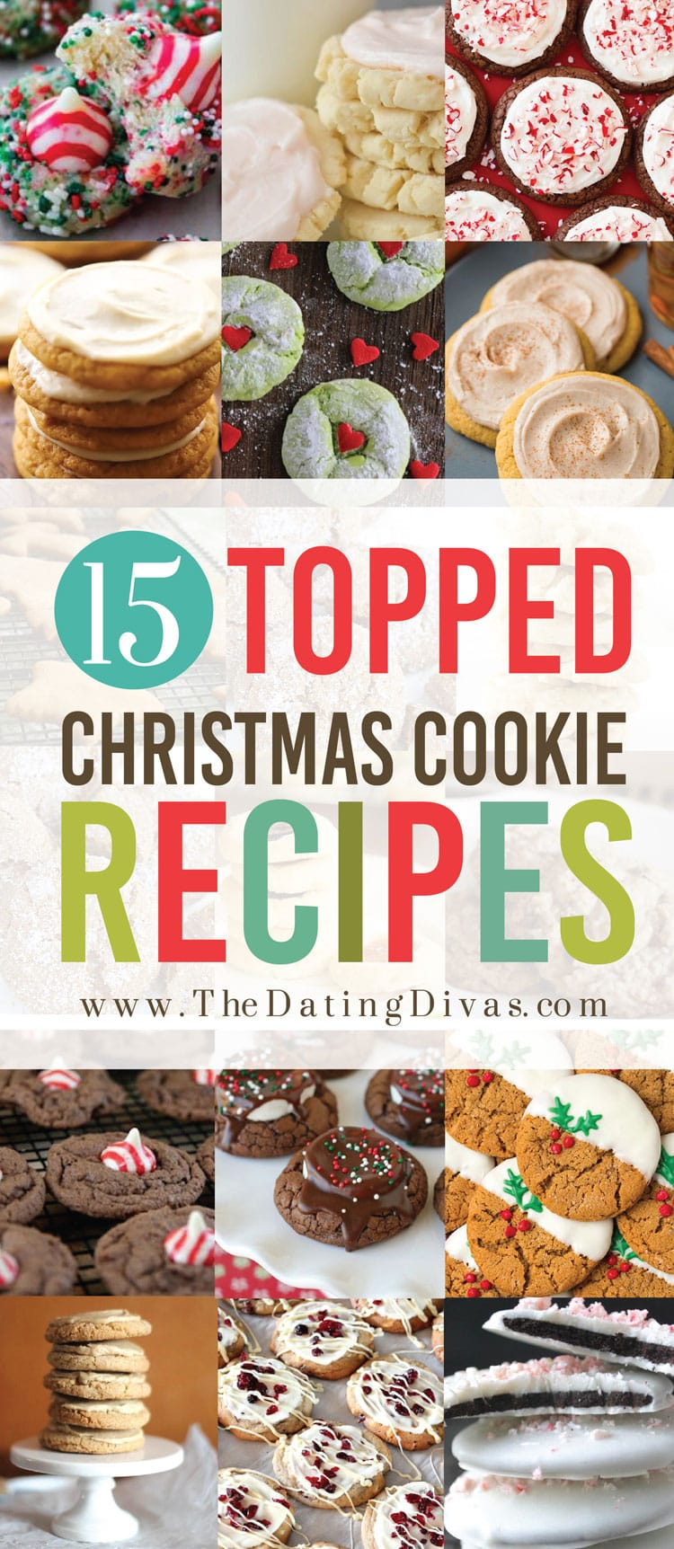 Topped Christmas Cookies