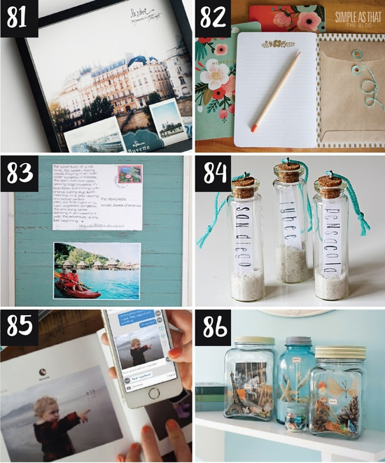 Travel Keepsake Ideas and Tips