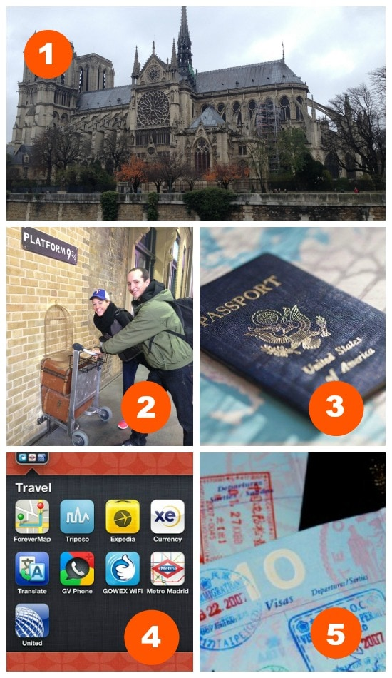 5 of the BEST tips for traveling abroad!
