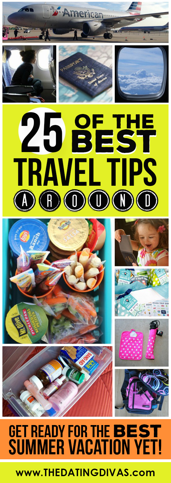 25 of the BEST travel tips around!