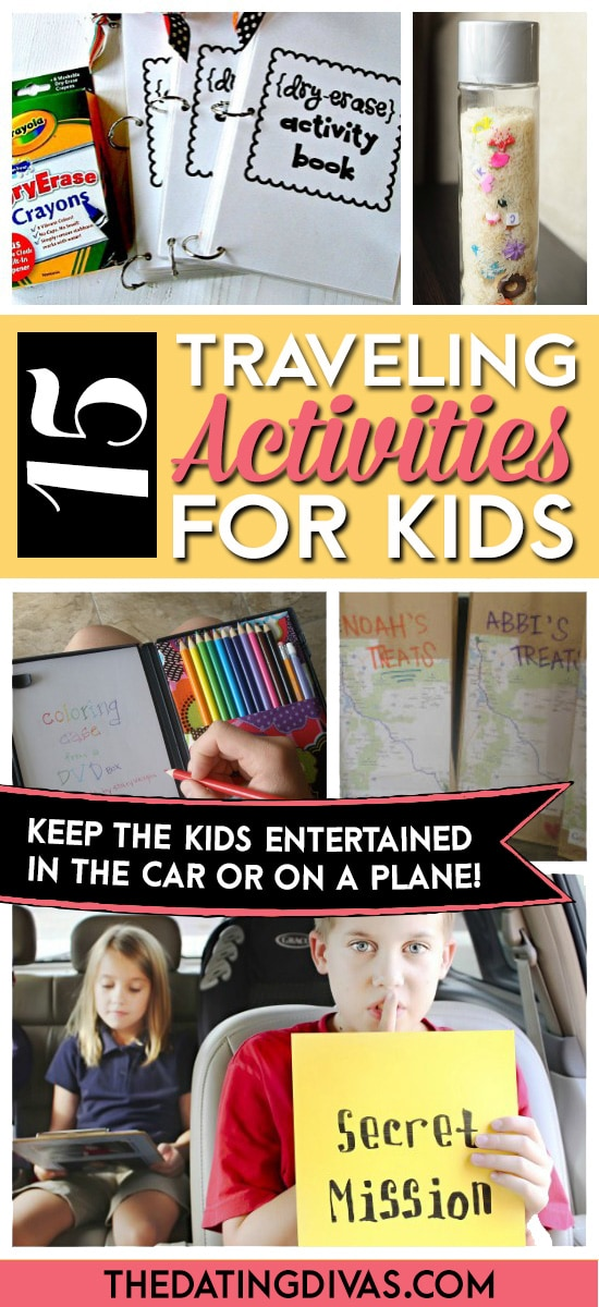Traveling Activities For Kids