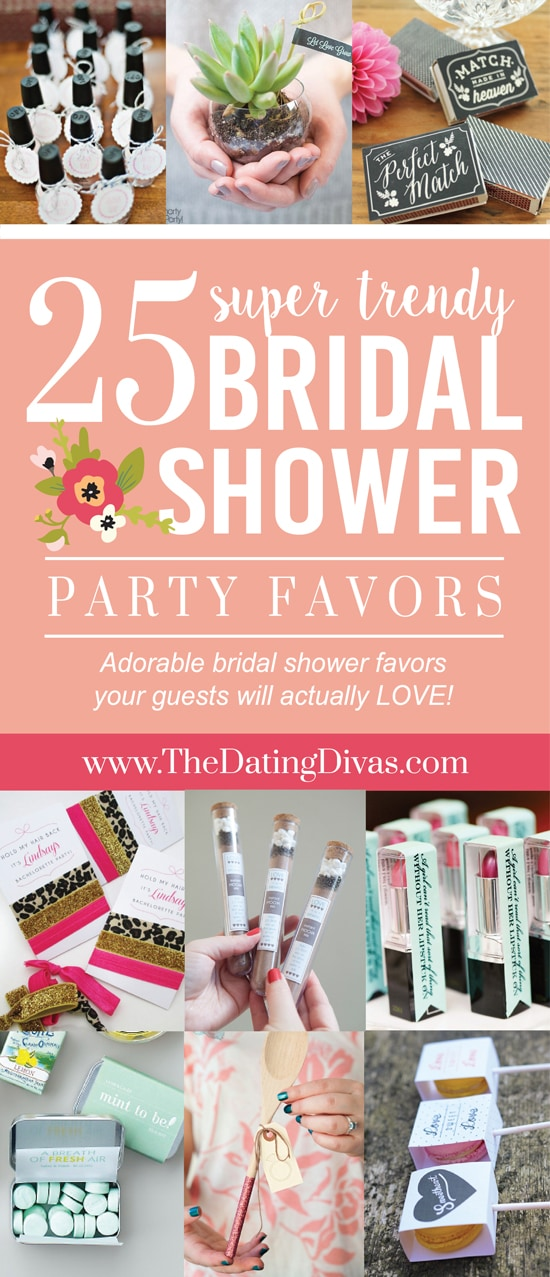 Bridal Shower Favors Your Guests Will Love
