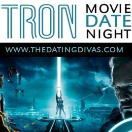 Tron movie date night