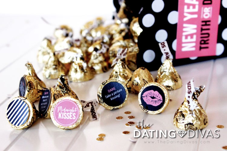 New Year's Eve Idea: Kissing Truth or Dare