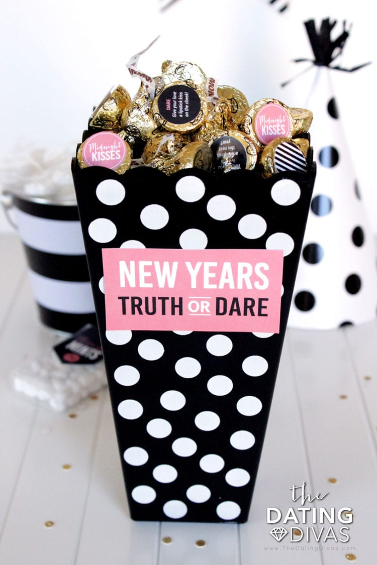 New Year's Eve Idea Truth Or Dare Game