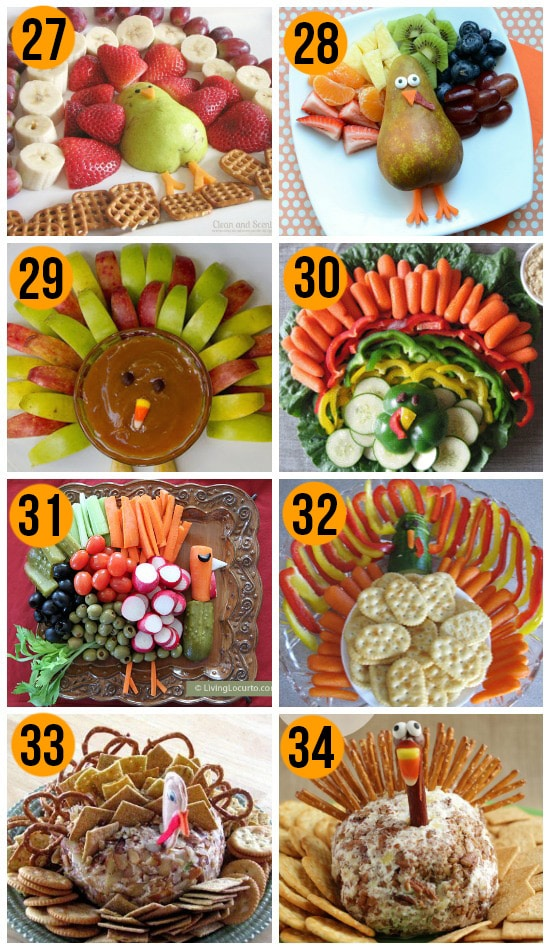 Turkey Trays and Thanksgiving Appetizers for Thanksgiving Dinner