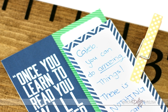 Back To School Bookmark Printable