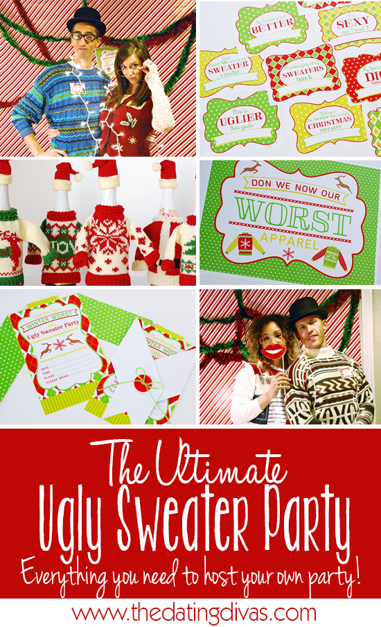 The ULTIMATE Ugly Sweater Party - Party Ideas from The Dating Divas